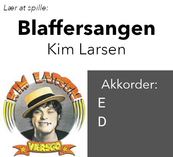 """Kim Larsen – """"Blaffersangen"""""""