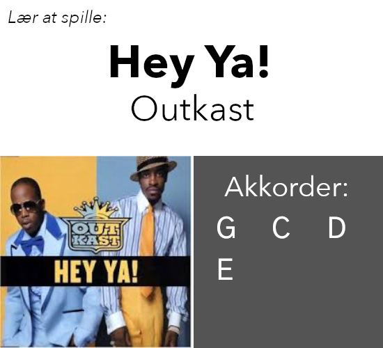 OutKast: Hey Ya!