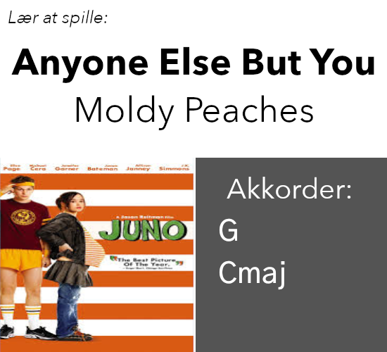 Moldy Peaches – Anyone Else But You