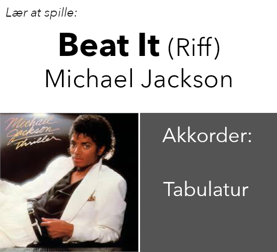 Michael Jackson – Beat It (Riff)