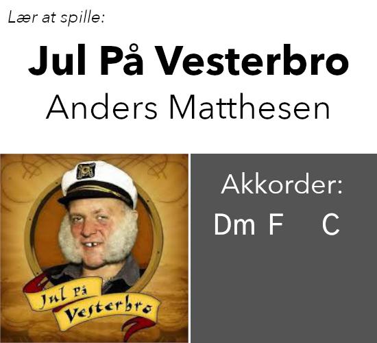 """Anders """"Anden"""" Matthesen – Jul På Vesterbro"""