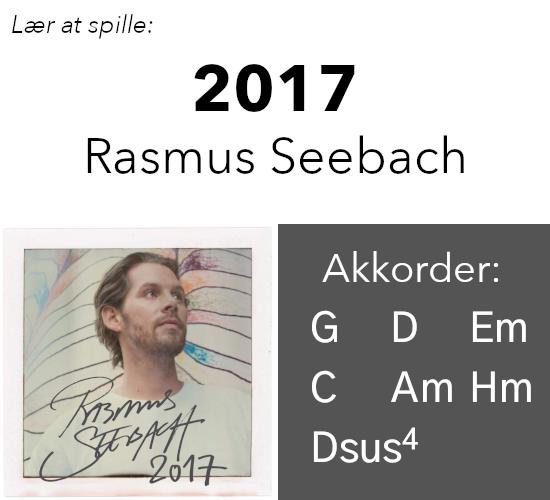 Rasmus Seebach – 2017