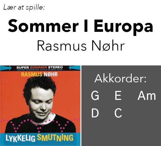 """Rasmus Nøhr – """"Sommer I Europa"""""""