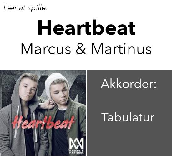 Videlektion – Heartbeat (Marcus & Martinus)