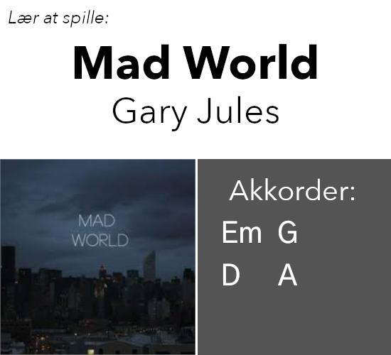 """Lær at spille """"Mad World"""" på guitar"""