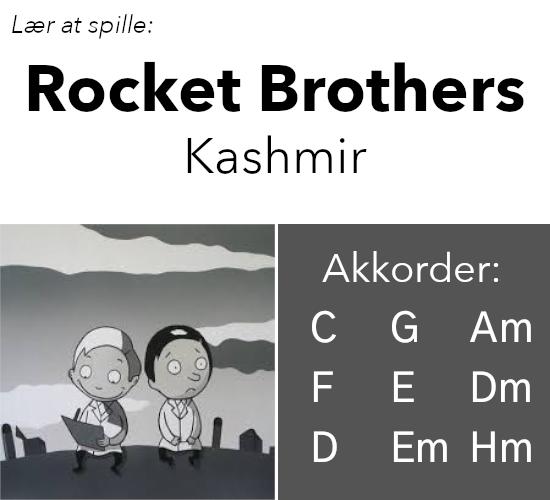 """Lær at spille """"Rocket Brothers"""" af Kashmir på guitar"""