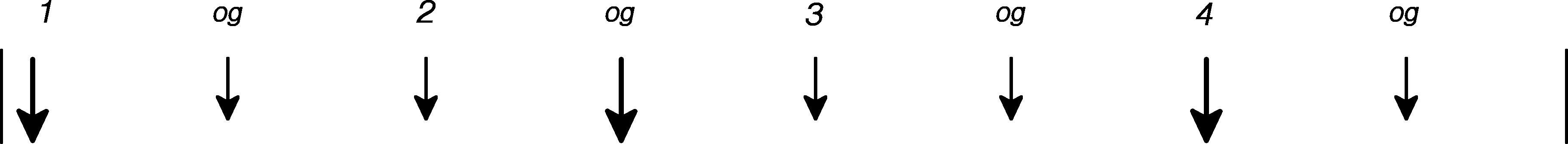 Guitar rytme grafik