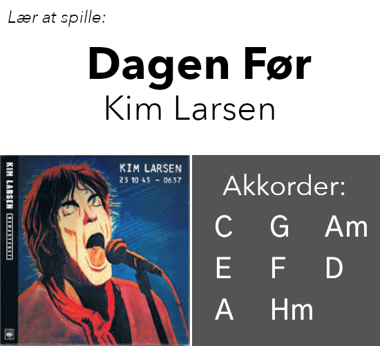 "Lær At Spille ""Dagen Før"" (Kim Larsen) På Guitar"