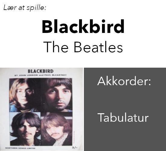 "Lær At Spille ""Blackbird"" (The Beatles) På Guitar"